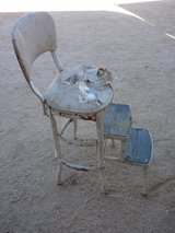 step stool in Yucca Valley, California