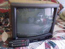 13 inch Color Sylvania TV with remote in Moody AFB, Georgia