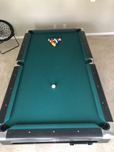 Brunswick 8ft 3pc Slate Pool Table in Perry, Georgia