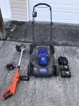 Electric lawn mower & weed trimmer in Fort Rucker, Alabama