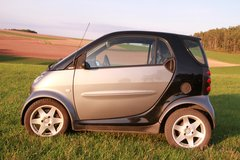 Smart Fortwo in Hohenfels, Germany