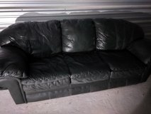 Beautiful ALL Leather Sofa and Love Seat in Kingwood, Texas
