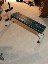 Sit-up and weight bench in Lockport, Illinois