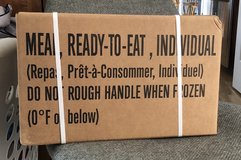 Case of Meals Ready to Eat, MREs in Fort Leonard Wood, Missouri