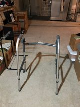 Aluminum medical walker in Oswego, Illinois