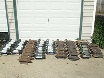 62 Duck Decoy Lot Blue Bill Super Mallard / Set Lines & Weights in Lockport, Illinois