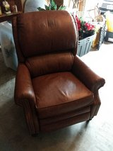 Leather Recliner in Kingwood, Texas