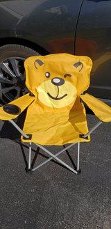 Kids Folding Camping Chair in Joliet, Illinois