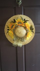 Country Garden Wreath in Beaufort, South Carolina