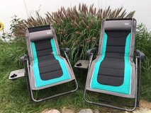 Timberline Folding Reclining Zero Gravity Lounge Chairs in Oswego, Illinois