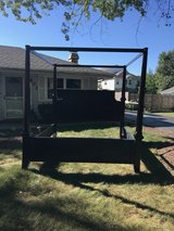 King size bed frame in Joliet, Illinois