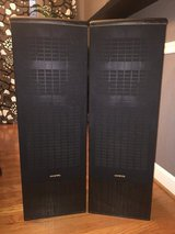 Onkyo 4-way Tower Speakers (Pair) in Kingwood, Texas