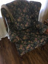 Floral Wing Chair in Warner Robins, Georgia