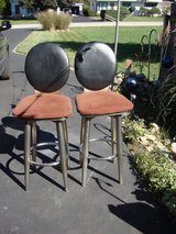 PAIR OF STURDY BAR STOOLS. in Naperville, Illinois