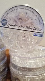 Lot of 10 NIP Wilton Sparkling Ice Table Decor in Wheaton, Illinois