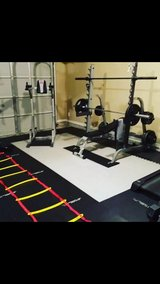 squat rack,hex,dumbell,500lbs plates,treadmill,dip bar home gym in Columbus, Georgia