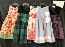 LOT OF GIRLS DRESSES SIZE 5 in Roseville, California