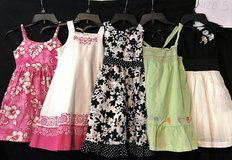 GIRLS DRESSES LOT OF 5 SIZE 5 in Roseville, California