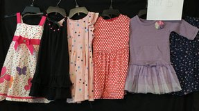 DRESSES GIRLS LOT OF 6 SIZE 5 in Roseville, California