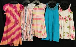 GREAT GIRL DRESSES LOT OF 5 SIZE 7/8 in Roseville, California