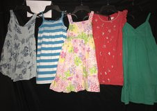 5 GIRL DRESSES SIZE 6 in Roseville, California
