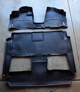 New Weathertech mats Chrysler Town country complete set in Yorkville, Illinois