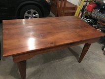 Handmade solid pine Harvest Table in Westmont, Illinois