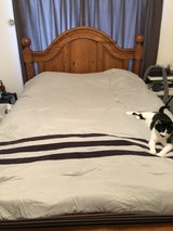Queen Bed Set w/ Tempurpedic Mattress Set in Okinawa, Japan