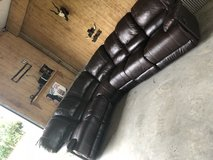 3 piece sectional/recliner sofas in Baytown, Texas