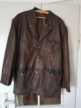 Men's Leather Jacket Bayern Traditional in Ramstein, Germany