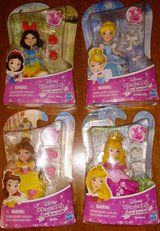 Lot of 4 Disney Princess Little Kingdom Snow White, Cinderella, Belle and Aurora in Shaw AFB, South Carolina