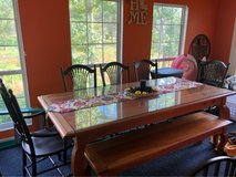 solid wood table in DeRidder, Louisiana