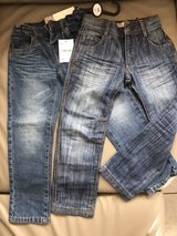 2 New Boys jeans 6X-7 (122cm) in Ramstein, Germany