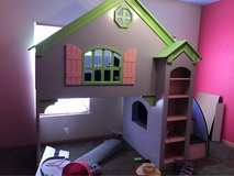 Dollhouse bed twin loft in Alamogordo, New Mexico