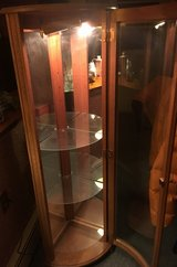 Lighted Curio Cabinet in York, Pennsylvania