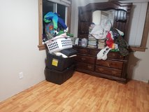 Free solid wood dresser with mirror in Camp Pendleton, California
