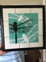 dragonfly picture/wall art from HomeGoods in Fort Campbell, Kentucky