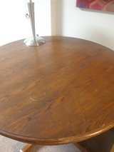 Circular wood dining table 3 foot diameter in Fort Campbell, Kentucky