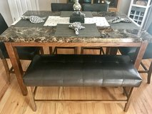 Dining table set in Fort Riley, Kansas