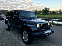 2008 4WD Unlimited Jeep Wrangler (Sahara) in Hohenfels, Germany