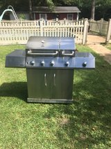 Kenmore stainless steal grill w/ tank in DeRidder, Louisiana
