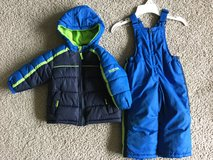 Boys 18m  winter coat and snow pants in Yorkville, Illinois