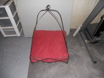 dog or cat bed metal frame with cushion in Lockport, Illinois