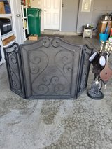 Fireplace Screen with accessories in Oswego, Illinois