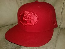 Men's San Francisco 49ers 7 3/8 Hats Lot in Vacaville, California