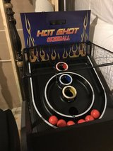 Hot Shot 8-Ft Arcade SkeeBall Table in Quantico, Virginia