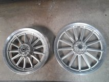 Cast Aluminum Harley Wheels from a 1996 FXD in St. Charles, Illinois