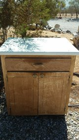 sturdy old cabinet in Yucca Valley, California