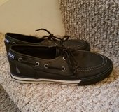 Nautica boys leather boat shoes in Shorewood, Illinois
