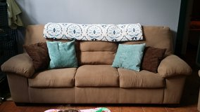 Couch and matching love seat in Fort Polk, Louisiana